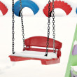 Stock Photo: Teeter on playground