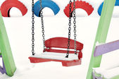 Teeter on the playground — Stock Photo