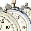 Three mechanical stopwatch — Stockfoto