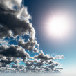 Contrast Sun and Cloudy — Stock Photo #4777204