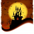 Royalty-Free Stock Vector Image: Haunted House