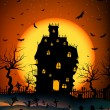 Haunted House - Stock Vector