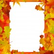 Thanksgiving Fall Autumn Background — Stock Vector