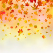 Stock Vector: Autumn background.