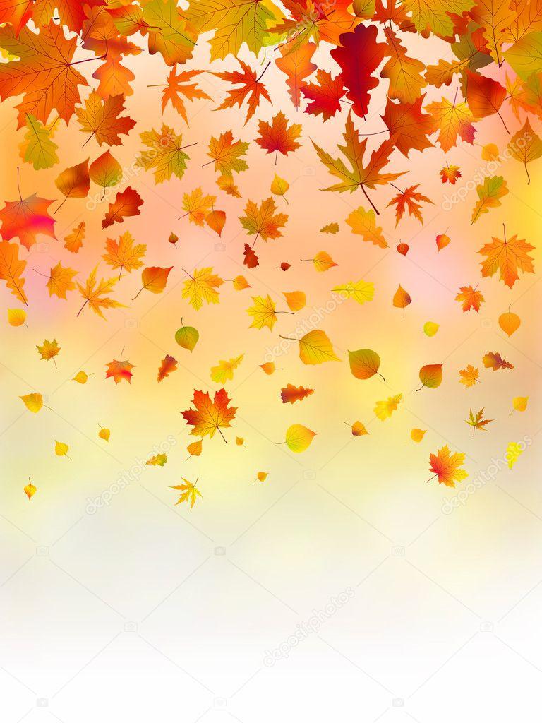 Download - Autumn background. — Stock Illustration #4118610