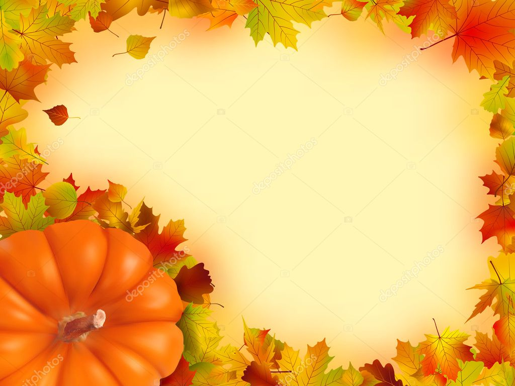 Thanksgiving holiday frame. EPS 8 vector file included — Stock Vector #4133170