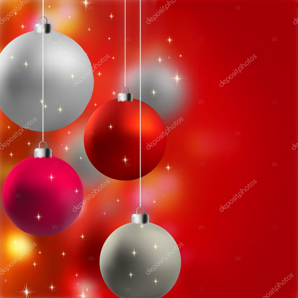Christmas background with stars. EPS 8 vector file included  Stock Vector #4177307