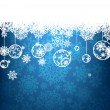 Christmas background with copyspace. EPS 8 — Stock Vector #4217391