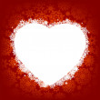 Royalty-Free Stock Vectorielle: Card - frame in the shape of heart. EPS 8