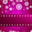 Royalty-Free Stock Vector Image: Christmas card with christmas snowflake. EPS 8