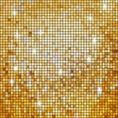 Coloeful plazas mosaico brillante con luz. eps 8 — Vector de stock