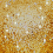 Coloeful plazas mosaico brillante con luz. eps 8 — Vector de stock