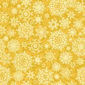 Sem costura ouro natal padrão de luz. eps 8 — Vetorial Stock