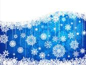 Elegant christmas achtergrond met kerstballen. eps 8 — Stockvector