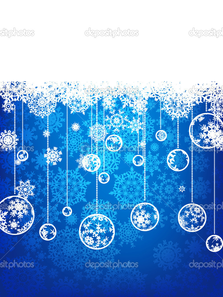 Elegant christmas background. EPS 8 vector file included — Stock Vector #4360646