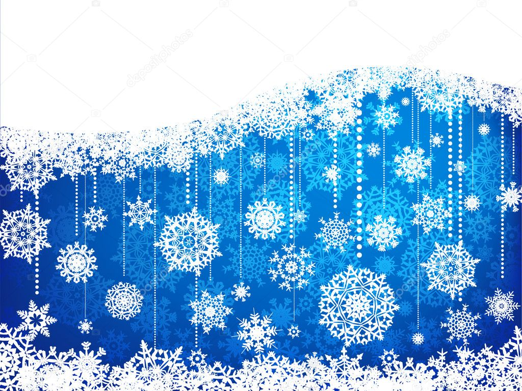 Elegant christmas background with baubles. EPS 8 vector file included — Stock Vector #4367715