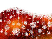 Christmas background with snowflakes. EPS 8 — Vector de stock
