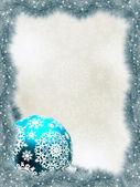 Fondo elegante con copos de nieve. eps 8 — Vector de stock