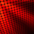 Red rays light 3D mosaic. EPS 8 — Stockvektor #4553969