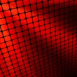Red rays light 3D mosaic. EPS 8 — Vector de stock #4553969