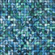 Royalty-Free Stock Vector Image: Seamless Blue Tiles swatch ready pattern. EPS 8