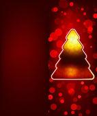 красный аннотация с новым годом. eps 8 — Cтоковый вектор