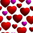 Royalty-Free Stock Vector Image: Heart seamless background pattern. EPS 8