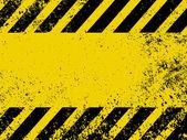 Un danger grungy et usé rayures texture. eps 8 — Vecteur