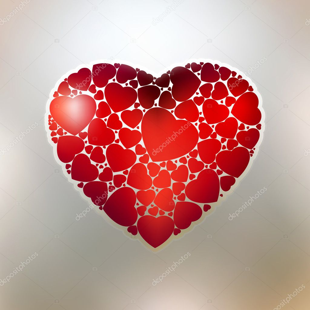 The Valentine's day. EPS 8 vector file included  Imagens vectoriais em stock #4663795