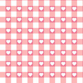 Swatch ready seamless Hearts — Stock Vector