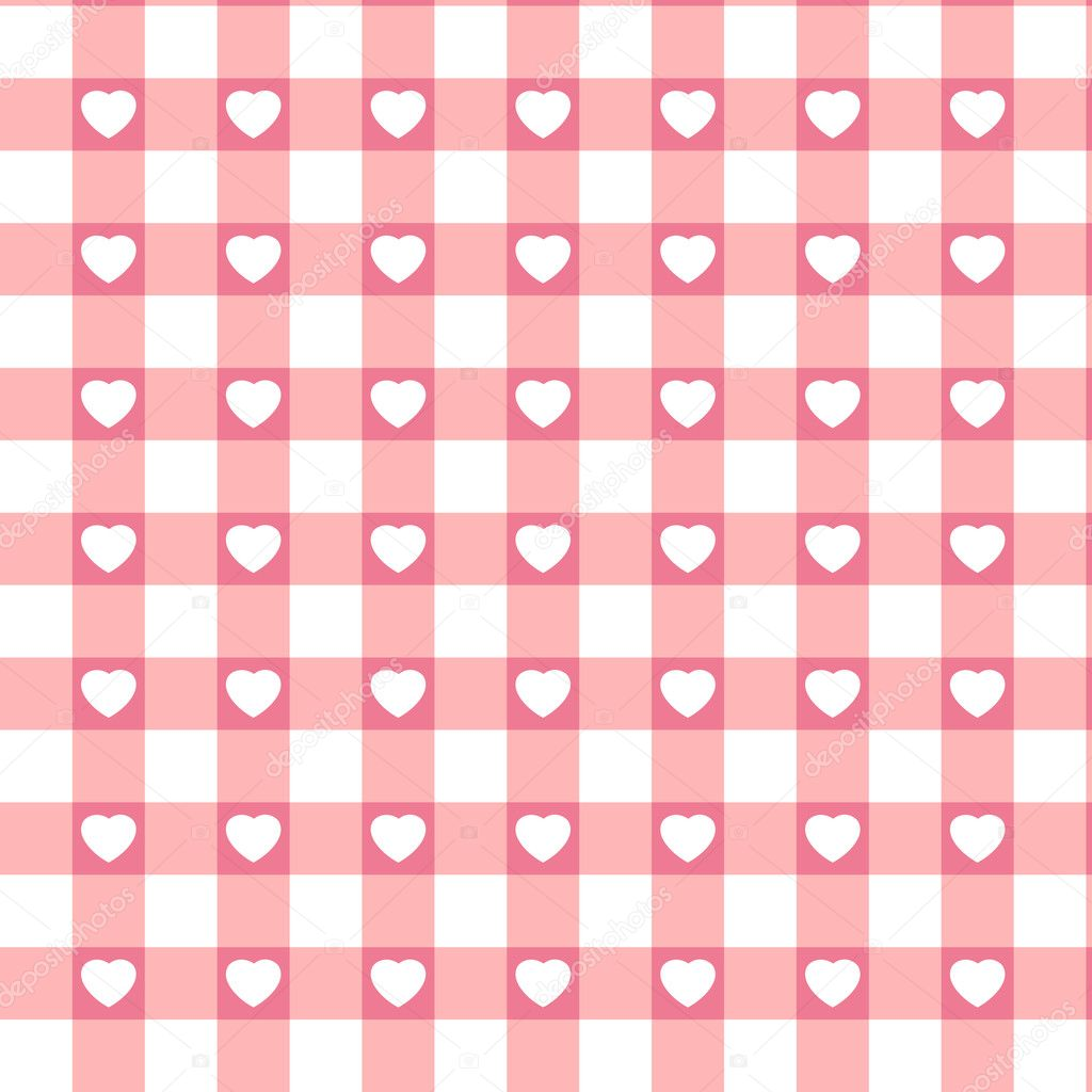 Swatch ready seamless Hearts   Stock Vector #4673778