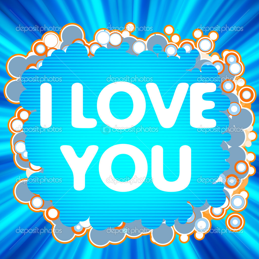 I Love You. love logo for lovers. EPS 8 vector file included  Stock Vector #4690412