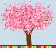Royalty-Free Stock Imagen vectorial: Wedding or Valentine card template. EPS 8