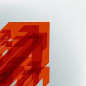 Abstract cencept terracotta arrows. EPS 8 — Stock Vector