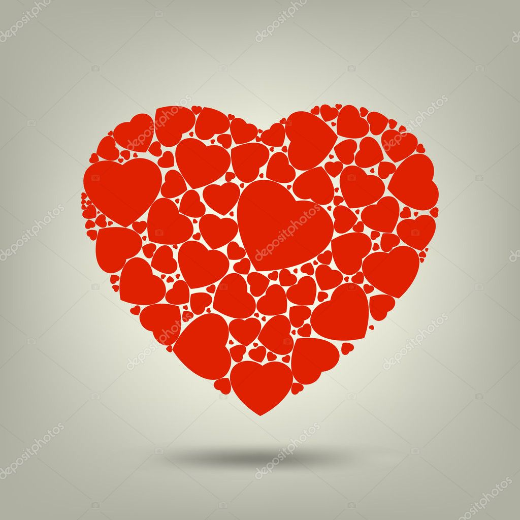 The Valentine's day. EPS 8 vector file included — Stockvektor #4740167