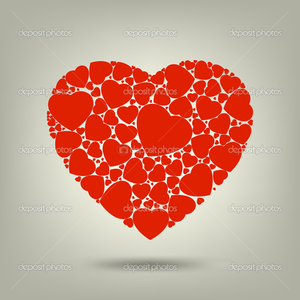 The Valentine's day. EPS 8 vector file included  Stockvectorbeeld #4740167