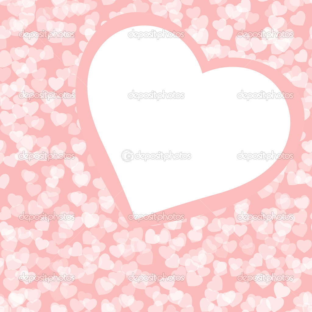Romantic valentine background template. EPS 8 vector file included — Vettoriali Stock  #4771775