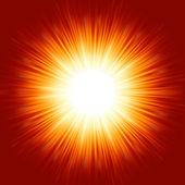 Una raffica che esplodono luminosa. eps 8 — Vettoriale Stock