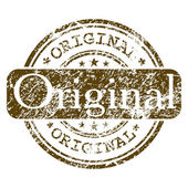 Goma sello - original. eps 8 — Vector de stock