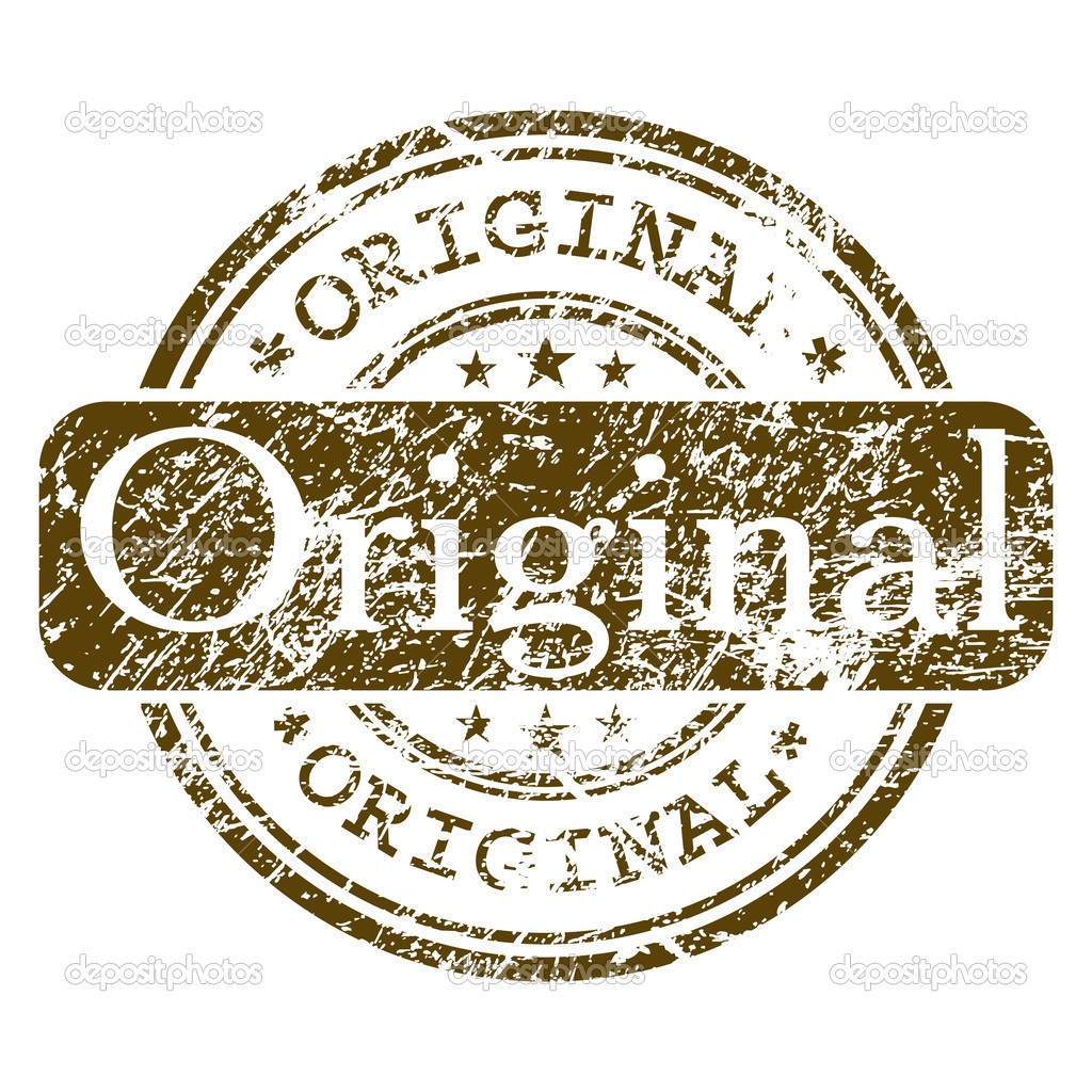 Office rubber stamp - Original. EPS 8 vector file included — Stock Vector #4794297