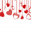 Royalty-Free Stock Imagen vectorial: Valentines Day Background. EPS 8