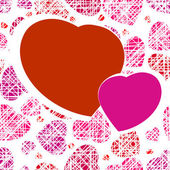 Hearts as an vector for use as Valentine's day — Διανυσματικό Αρχείο