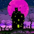 Grungy Halloween background. EPS 8 — Imagen vectorial
