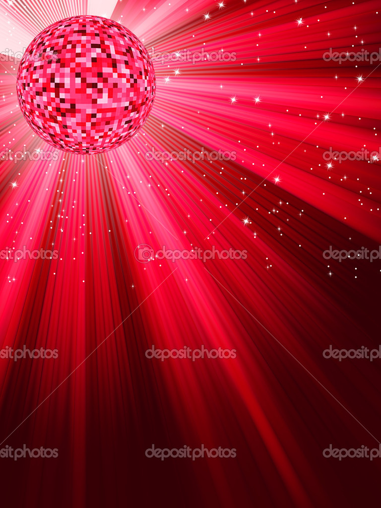 Party Banner with Disco Ball. EPS 8 vector file included  Stock Vector #4972597
