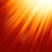 Warm sun light. EPS 8 — Stock Vector