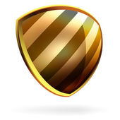 Vector shield template item. EPS 8 — Stock Vector