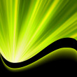Royalty-Free Stock Vector Image: Bright blast green tone background. EPS 8