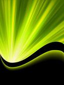 Bright blast green tone background. EPS 8 — Stock Vector