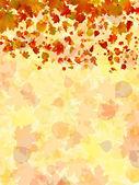 Feuilles d'automne fond. eps 8 — Vecteur