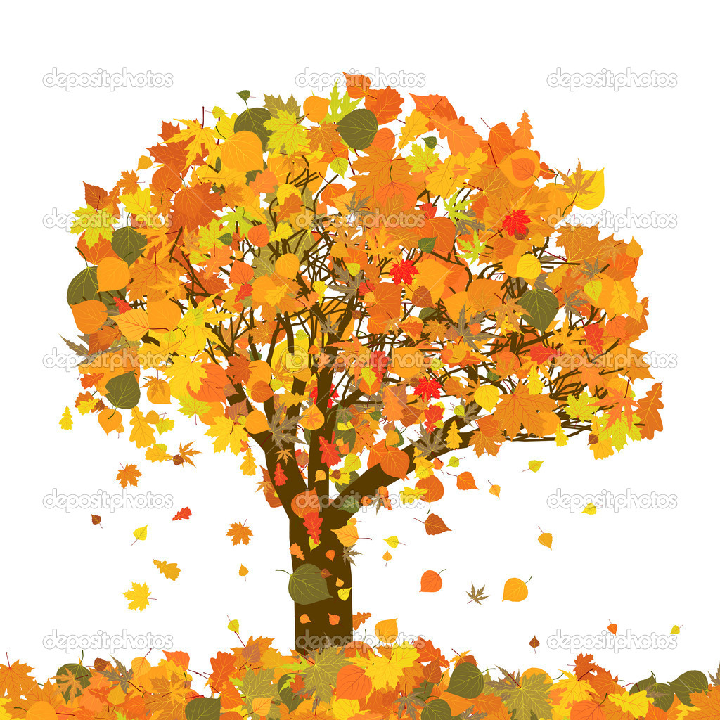 Beautiful autumn tree for your design. EPS 8 vector file included   Stock Vector #5260073